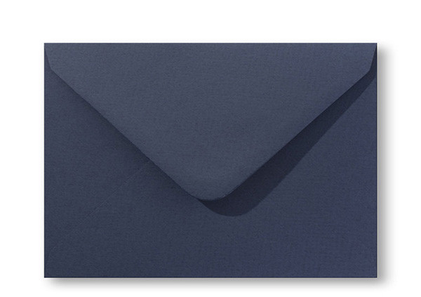 Kuvert Marine Blau 12x18cm