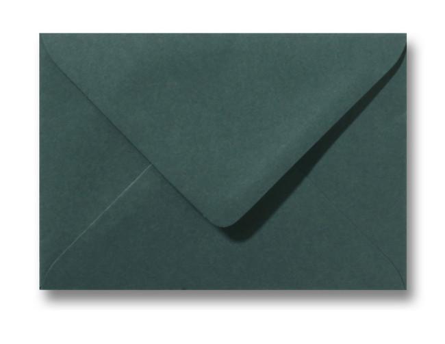 Kuvert Dunkelgrün 12x18cm