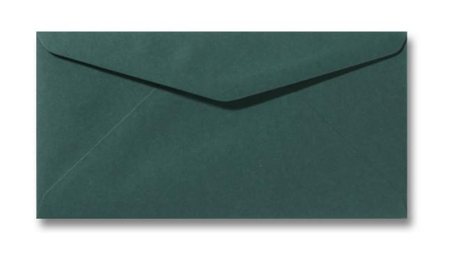 Kuvert Dunkelgrün 11x22cm