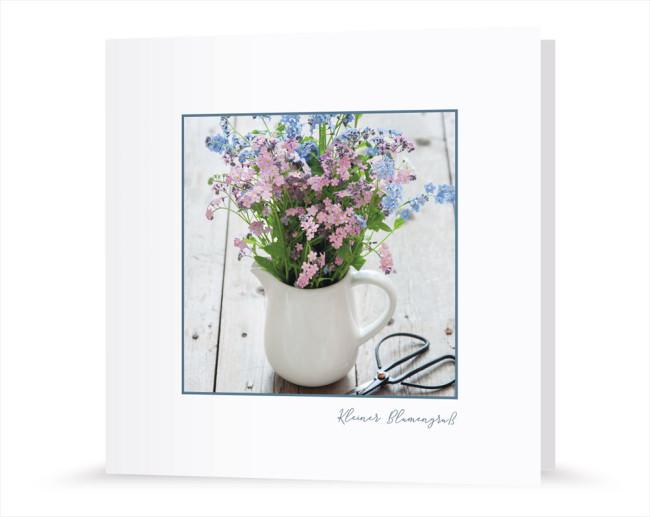 Postkarte - Kleiner Blumengruß