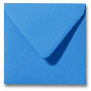 Kuvert Roma Königsblau 14x14cm