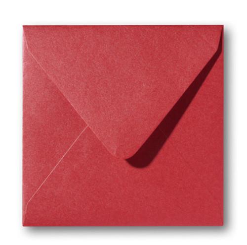 Metallic Rosso 14x14cm