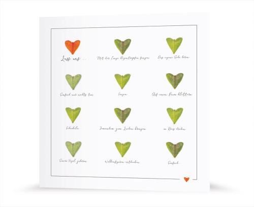Grußkarte - Herzensangelegenheit