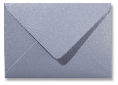 Kuvert Metallic Silver 12x18cm