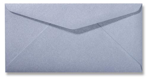 Kuvert Metallic Silver 11x22cm