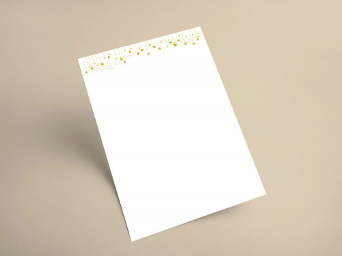 Briefpapier Weihnachten 2020