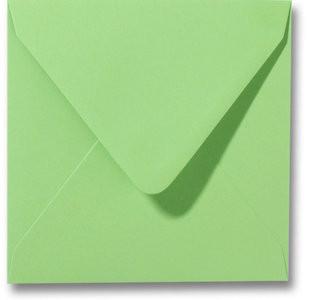 Kuvert Roma Apfelgrün 14x14cm