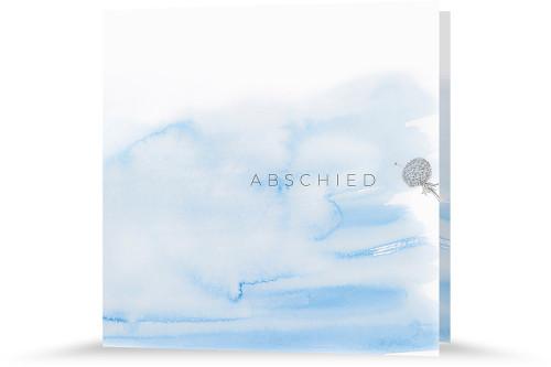 Trauerkarte - Wolken