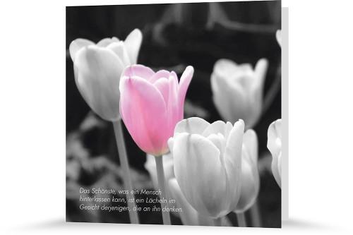 Trauerkarte - Gedenken